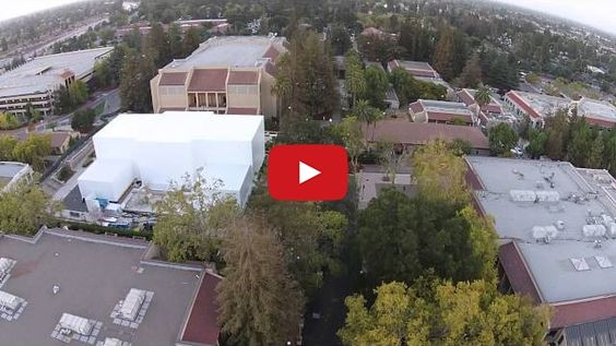 Drone Video Shows Massive Structure Apple is Building for Its Press Event [Watch] - http://iClarified.com/43606 - A new video of the massive structure Apple is building next to the Flint Center has been posted to YouTube.