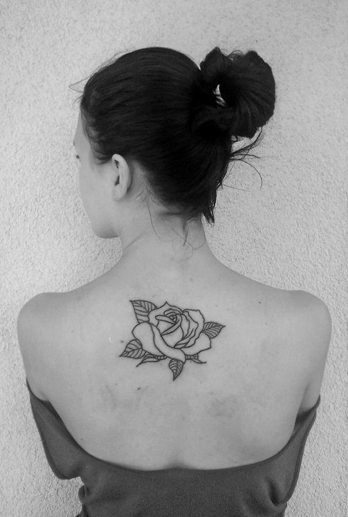 #rose #backtattoo