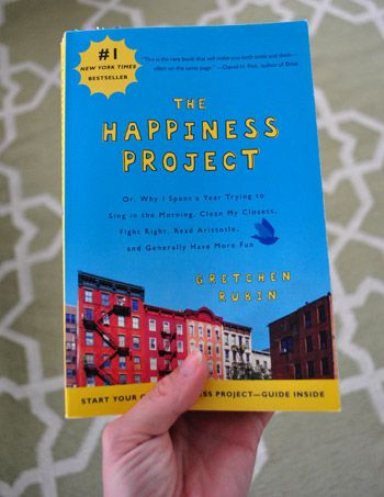 I get a big kick EVERY TIME I hear that someone is reading The Happiness Project.