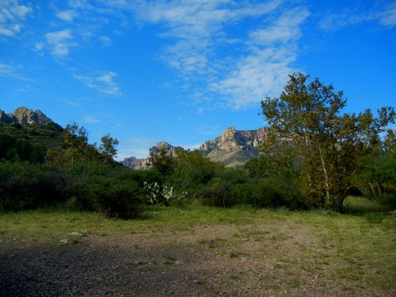 Cave Creek Canyon portal store and cabins