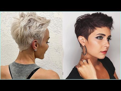 Nothingbutpixies 12 Beautiful Pixie Haircuts For Women Youtube Pixie Haircut Womens Haircuts Short Pixie Haircuts