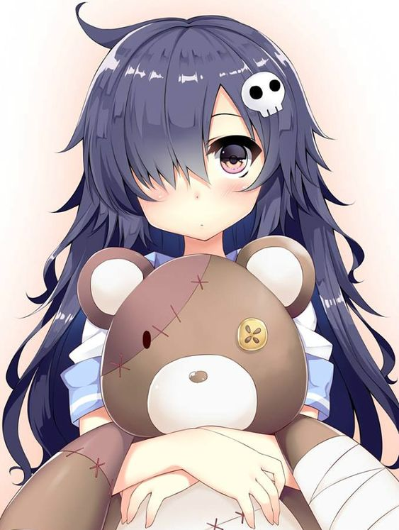 Teddy Bear girl | Hito