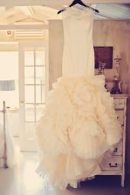 glam and gorgeous wedding gown