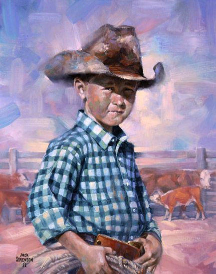 A Hundred Percent Cowboy ~ Jack Sorenson