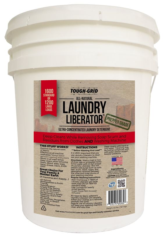 Amazon.com - Laundry Liberator (1600 Loads .11 load) Ultra-Concentrated Laundry Detergent and Residue Eliminator -
