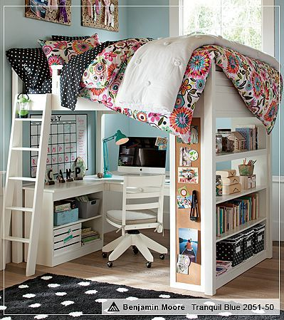 Love the use of space. #dorm