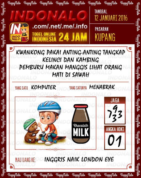 Prediksi Togel Online IndoNalo Kupang 12 Januari 2016
