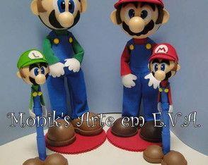 Encomenda Mario e Luigi Bros - Rafaella