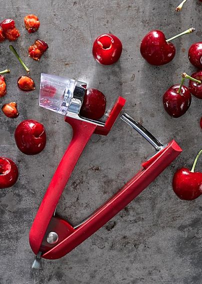cherry and olive pitter