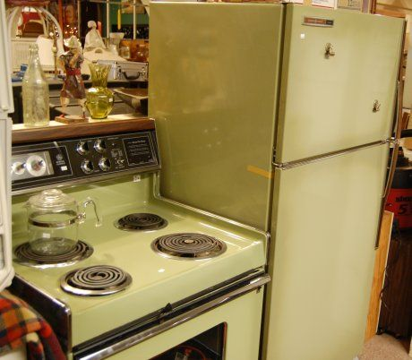 Avocado Green Stove And Fridge This Could Have Been Taken