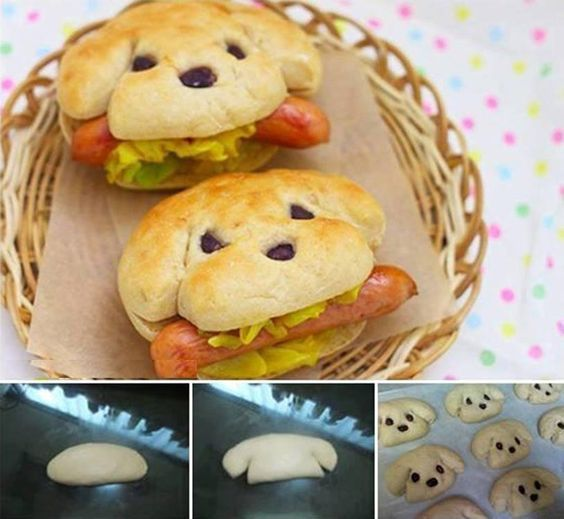 Cute DOG bread