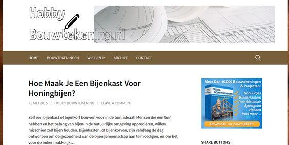 Op hobbybouwtekening.nl vind je bouwtekeningen van houten projecten. In principe kan je voor alle voorwerpen bouwtekeningen vinden, ideaal voor hobbyisten. Werken met hout is fantastisch om prachtige projecten te maken.