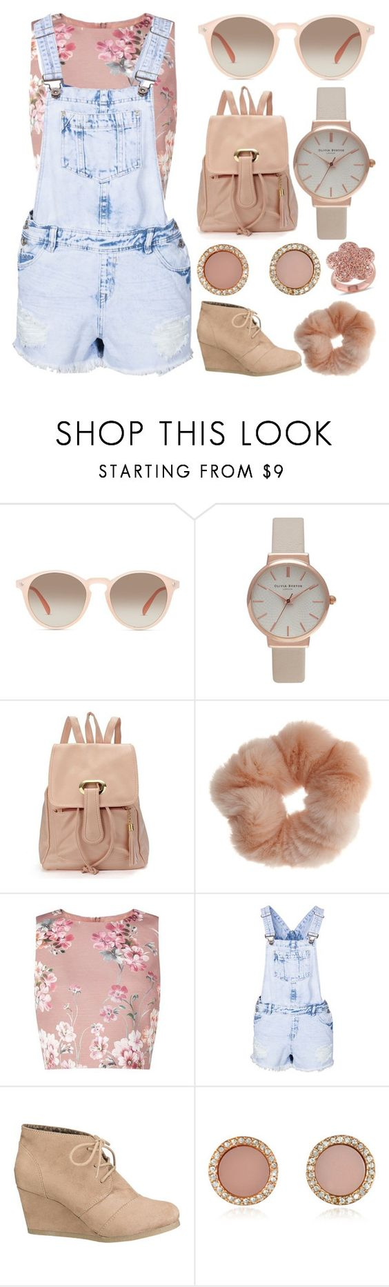 """Untitled 210"" by meaganmuffins on Polyvore featuring GlassesUSA, Olivia Burton, Miss Selfridge, New Look, maurices, Michael Kors and Amour"
