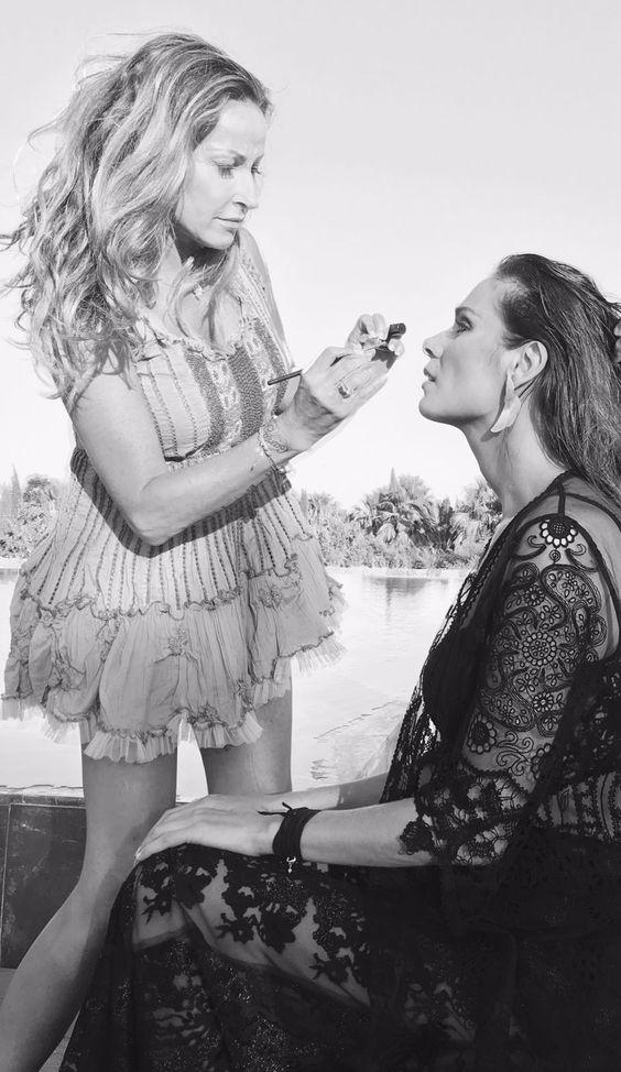 Maquillaje top model con nuestra queridísima Mar Saura 😘