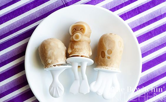 Coffee Popsicles - http://thebewitchinkitchen.com/2014/07/coconut-coffee-popsicles.html