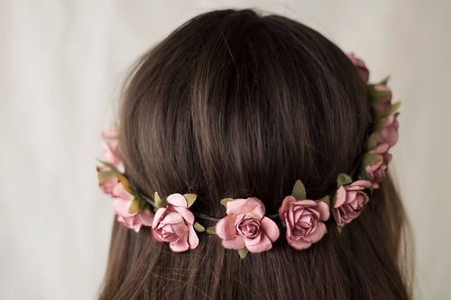 Coronas Accesorios de flores para el cabello
