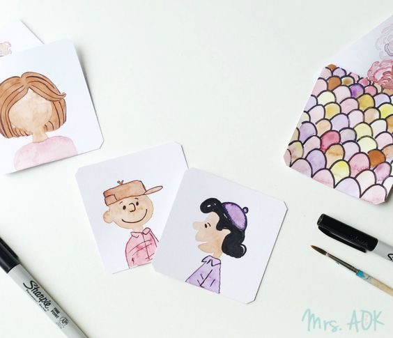 Thank You Notes: Watercolor and Netflix