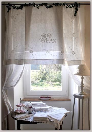 Accueil - Le linge de jadis - Linge ancien - Antique & vintage French linen