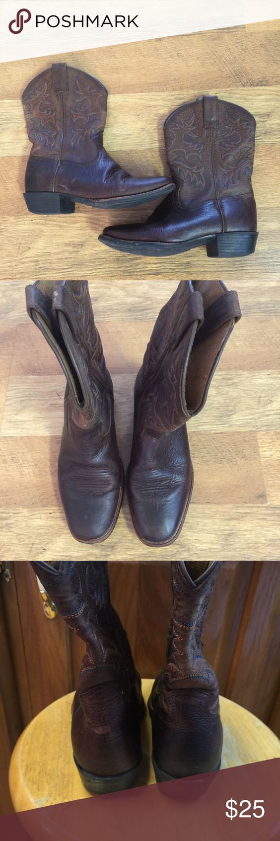 Boys Ariat brown boots size 4   Boys, Abs and To the
