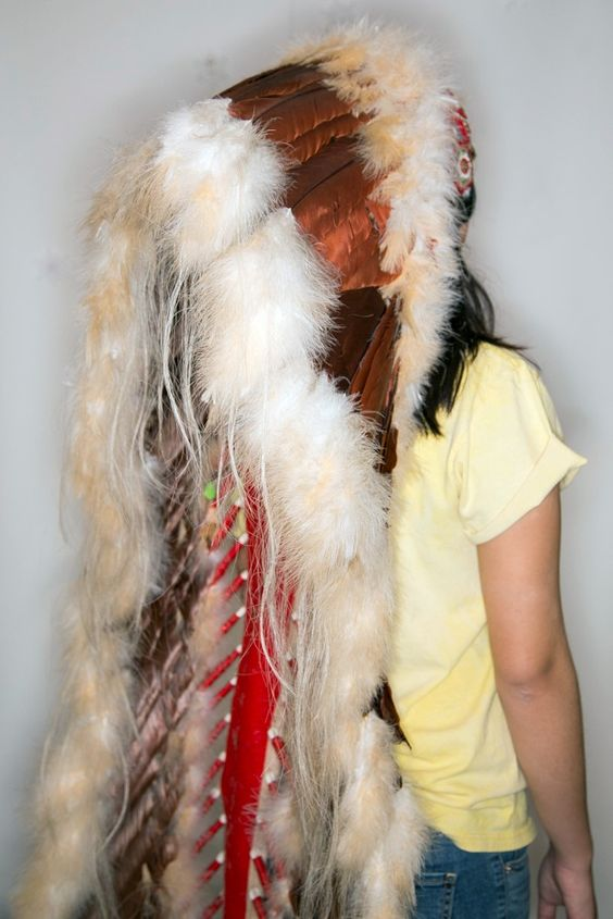 Native American Headress Vintage
