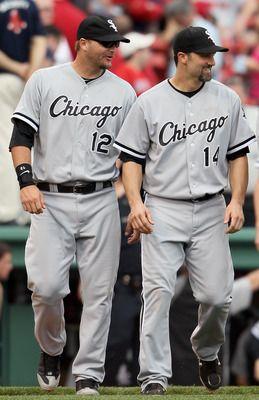 Pierzynski & Konerko 2 of my favorite Chicago White Sox!