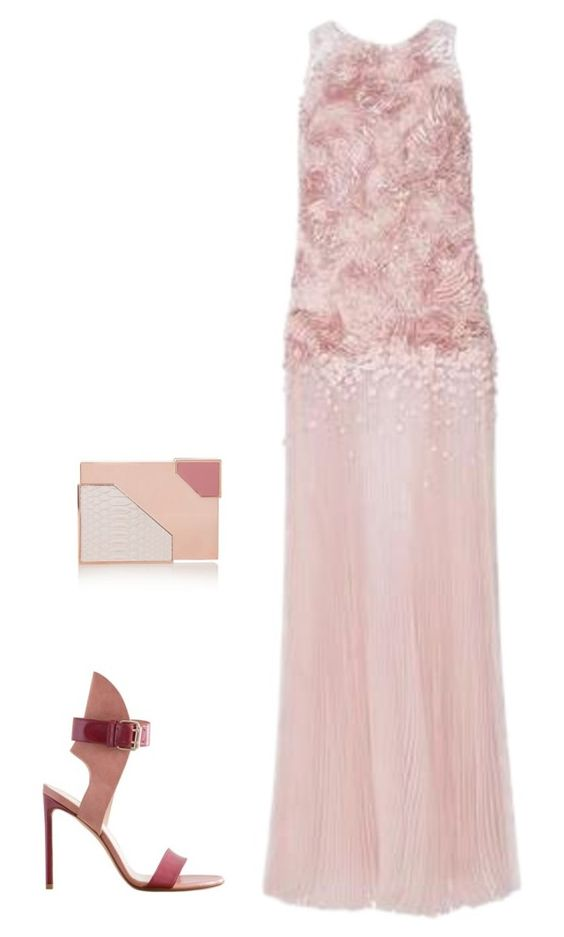"""Untitled #2000"" by nava16 ❤ liked on Polyvore featuring Carolina Herrera and Lee Savage"