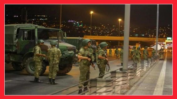 TURKEY: GUNFIRE, MILITARY HELICOPTES IN ANKARA: COUP UNDERWAY