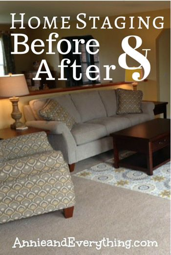 Home staging staging and to sell on pinterest for Home staging before and after