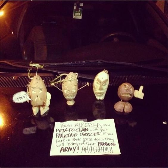Hilariously Aggressive Windshield Notes - Funny, humor, lol, funny pics, memes