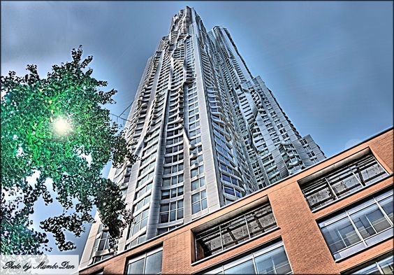 Frank Gehry tower wins global skyscraper award