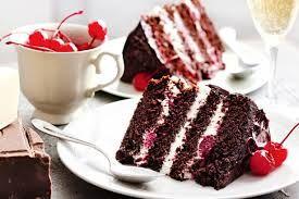 Resultado de imagen para Black Forest Cake