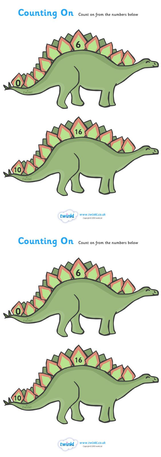 math worksheet : counting on worksheets dinosaurs  pop over to our site at www  : Maths Worksheets Site