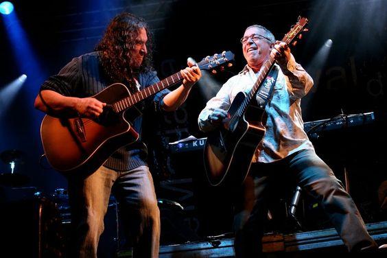 """A dupla Sá & Guarabyra relembra os principais sucessos de seus 42 anos de estrada no show """"Rock Rural"""", em cartaz na Caixa Cultural Fortaleza, de 19 a 22 de fevereiro."""