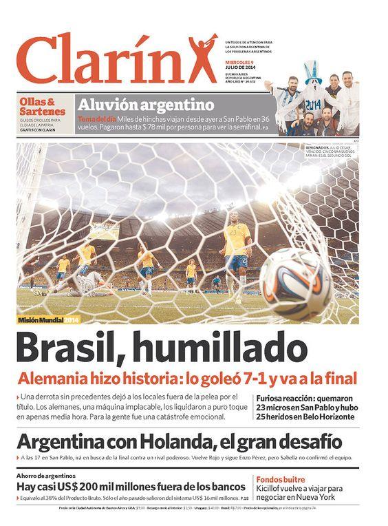 Copa 2014 - Clarin