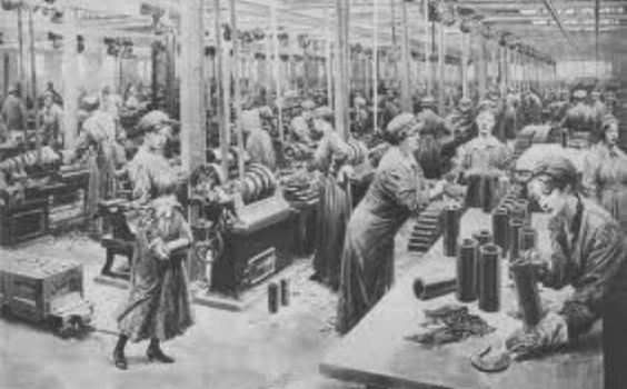Unit7: This picture shows women in munitions factories. 1. Women's organizations helped the war effort at home by collecting paper, glass, rubber, rags and bones to be recycled into war supplies. 2. To ensure there was a large enough supply to meet both military and civilian needs, certain goods like meat, butter, gasoline, alcohol, and clothing fabric were rationed. 3. Finally, the government reintroduced victory bonds to help finance the war raising nearly $12 billion by the end of the…