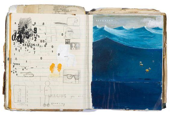 oliver jeffers -- sketchbook