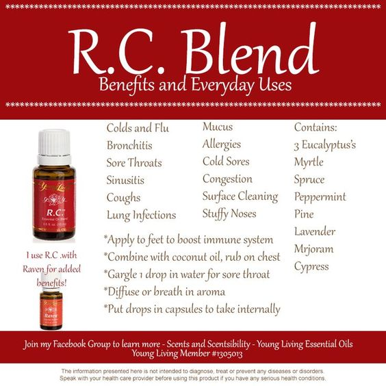 young living rc essential oil uses - Google Search