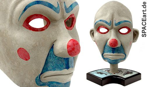 KELSEY.  Batman - The Dark Knight: Joker Maske, Fertig-Modell ... http://spaceart.de/produkte/bm004.php
