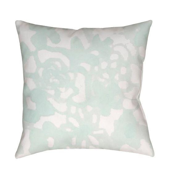 Surya Flowers II Outdoor Pillow