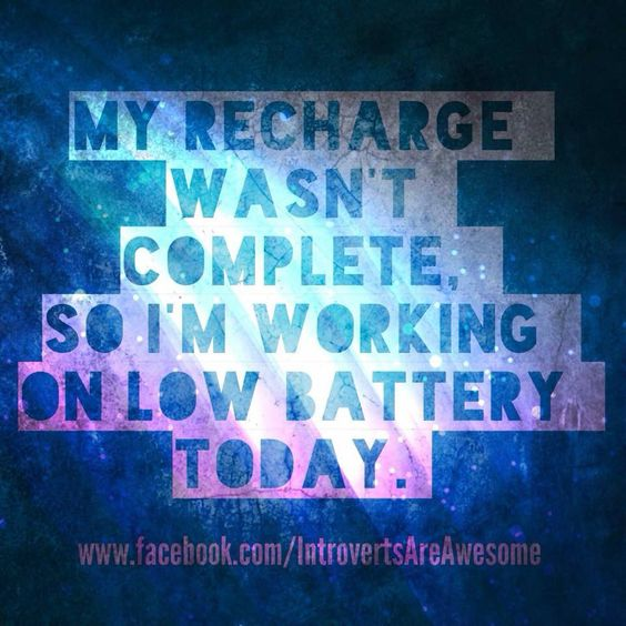 Low battery today