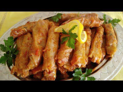 35063 اكتشفي معايا الطريقه التركية لعمل محشي الكرنب الملفوف بننننة Youtube My Favorite Food Favorite Recipes Cuisine