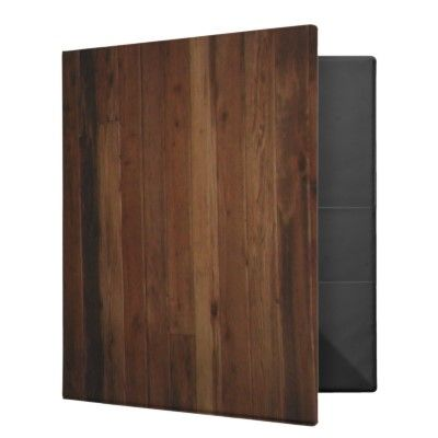 Wooden Binder by Avery