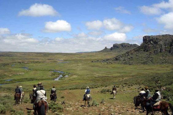 A cheval dans le massif de Bale #ChevaldAventure #Ethiopie