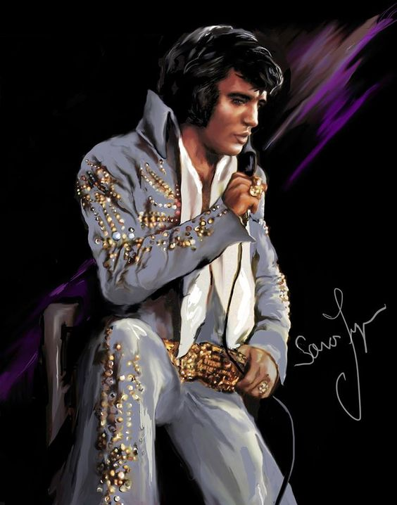 Elvis--#---539---On Stage