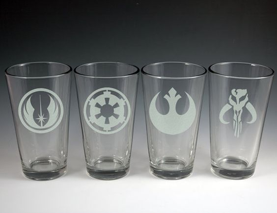 Hey, I found this really awesome Etsy listing at https://www.etsy.com/listing/122840309/star-wars-theme-etched-glass-set-of-4