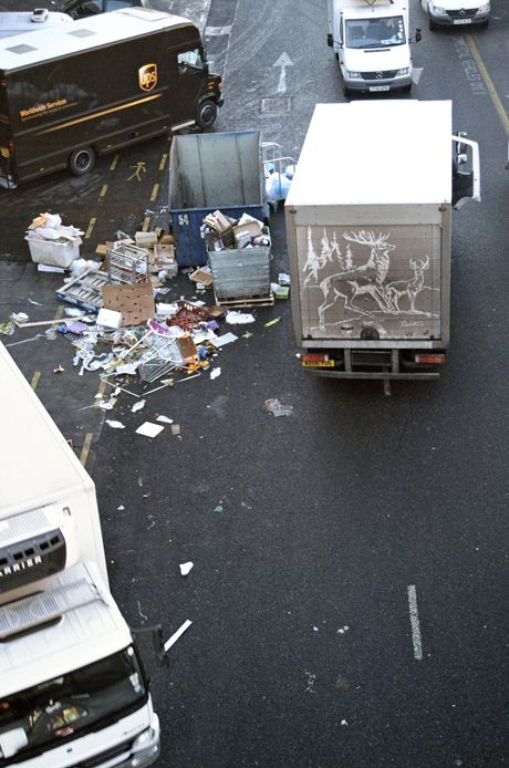 Dirty truck art from Ben Long