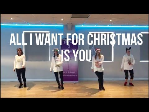 All I Want For Christmas Is You Mariah Carey Christmas Dance Fitness Routine Dance 2 Enhance Yout Mariah Carey Christmas Christmas Dance Dance Workout