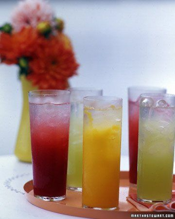 Fruit Spritzers (Non-alcoholic)
