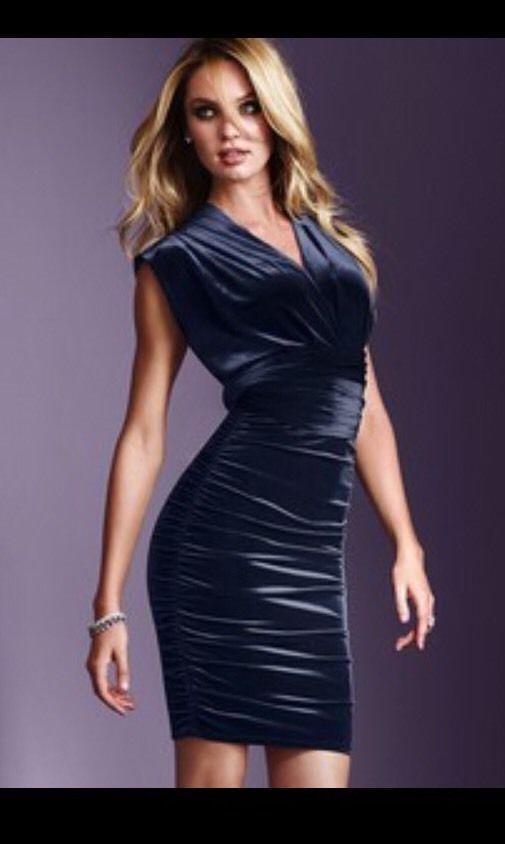 Long black dress victoria secret