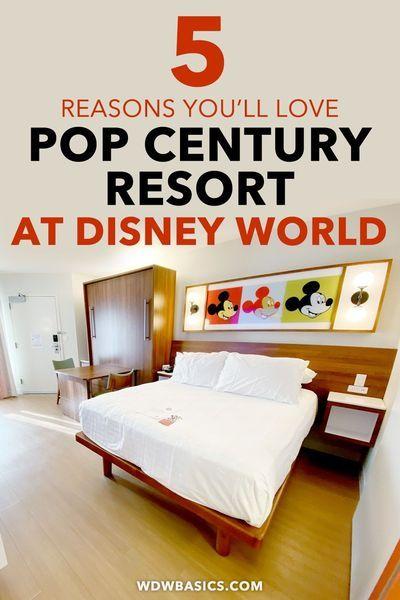 5 Reasons To Love Disney S Pop Century Resort Renovated Rooms In 2020 Disneys Pop Century Resort Disney Pop Century Pop Century